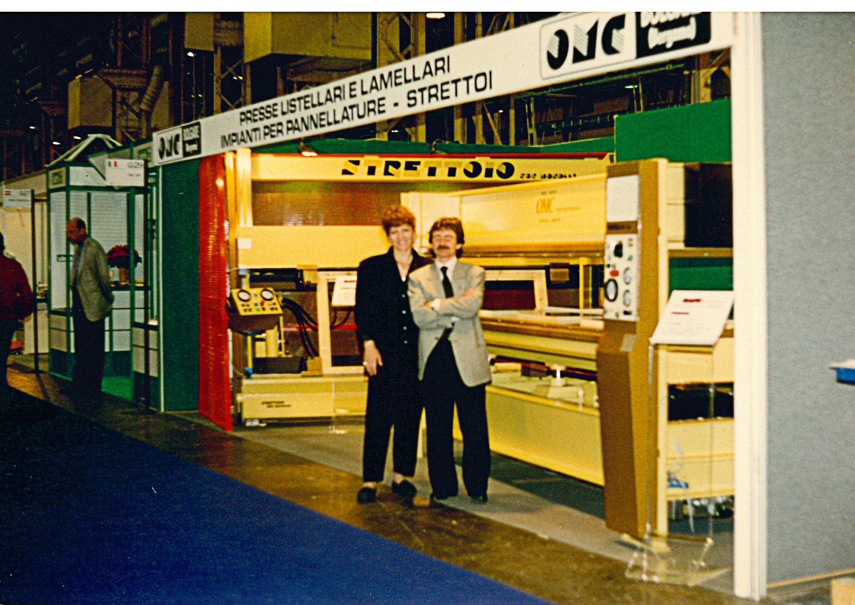 OMC Machinery srl at xylexpo 1996